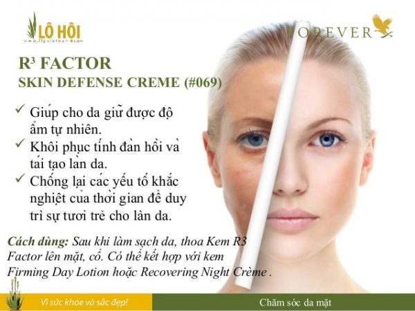 r3 factor skin defense creme 5