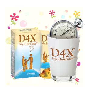 D4x my unit dose Vision 4