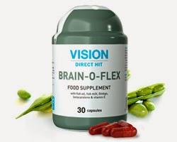 Thực phẩm chức năng Brain – o – flex bổ sung dinh dưỡng cho não bộ, hỗ trợ chức năng