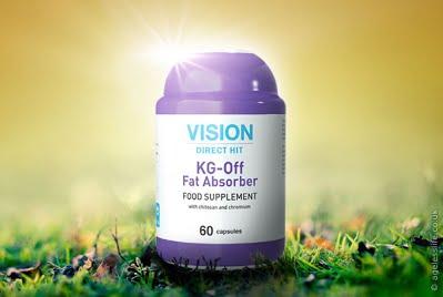 Thực phẩm chức năng KG-Off Fat Absorber ngăn cản lượng mỡ thừa xâm nhập vào cơ thể