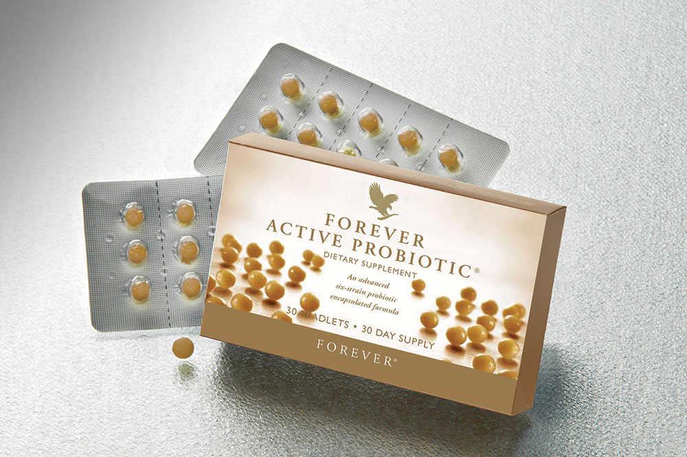 Thực phẩm chức năng Forever Active Probiotic sẽ phát huy tác dụng tốt nhất