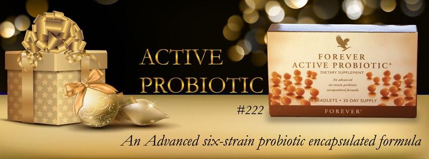 Thực phẩm chức năng Forever Active Probiotic cơ thể sẽ được cung cấp 6 loại vi khuẩn