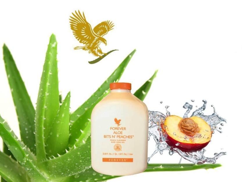 Forever Aloe Bits N'peaches 2