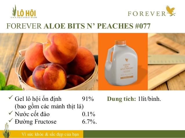 Forever Aloe Bits N'peaches 3