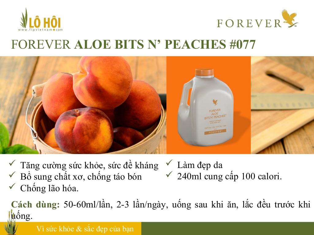 Forever Aloe Bits N'peaches 4