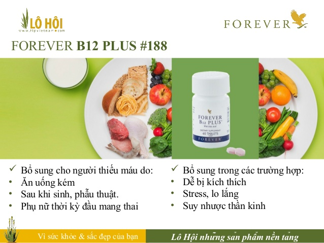 Thực phẩm chức năng Forever B12 Plus