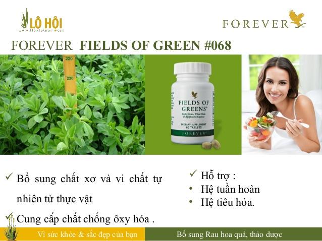 Thực phẩm chức năng Forever Fields of Green