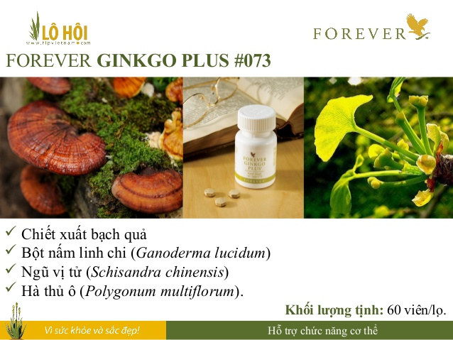 Forever Ginkgo Plus 4