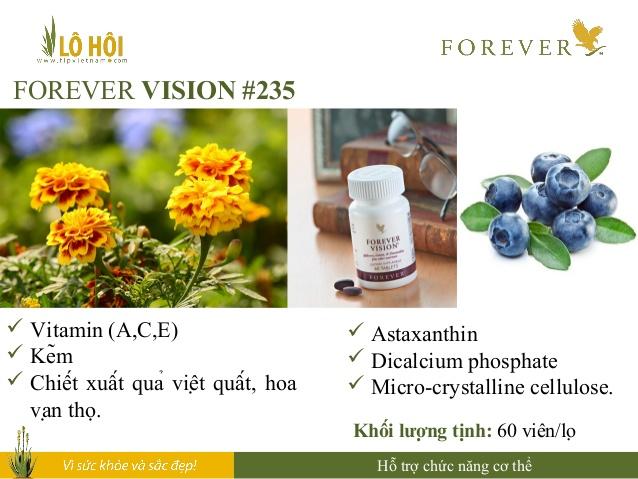 Thực phẩm chức năng Forever Vison