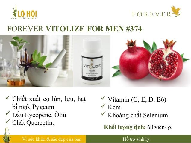 Forever Vitolize for Men 5