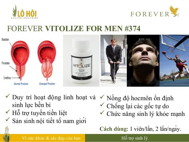Forever Vitolize for Men 6