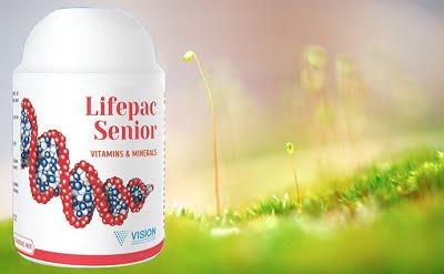 thực phẩm chức năng Lifepac Senior bổ sung dinh dưỡng có hoạt tính sinh học
