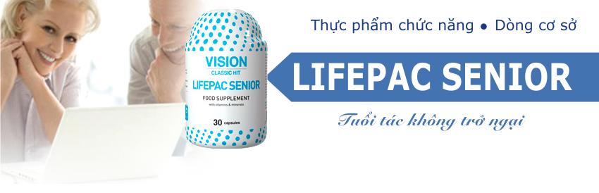 thực phẩm chức năng Lifepac Senior bổ sinh dinh dưỡng