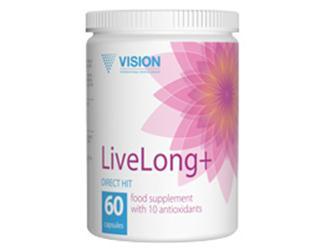 tác dụng của Thực phẩm chức năng LiveLong vision