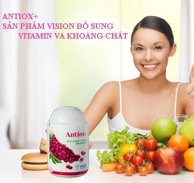 Thực phẩm chức năng Vision Antiox