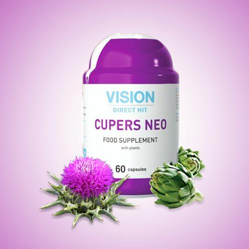 Thực phẩm chức năng Cupers Neo, là sản phẩm độc quyền được Tập đoàn quốc tế Vision