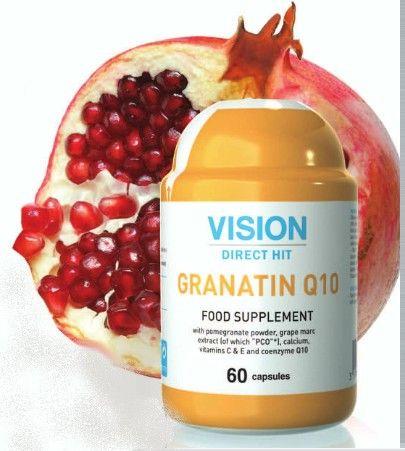 Thực phẩm chức năng Vision Granatin Q10 chống lão hóa