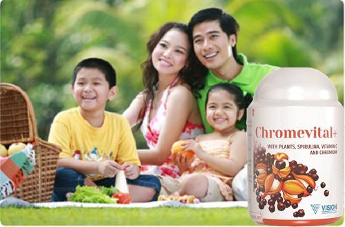 thực phẩm chức năng Vision Chromvital+ 3
