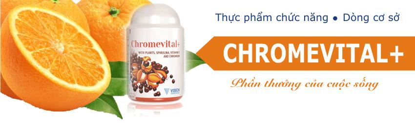 thực phẩm chức năng Vision Chromvital+ 4