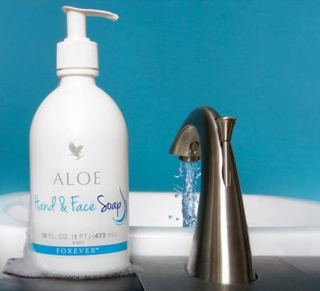 Aloe Hand & Face Soap 1