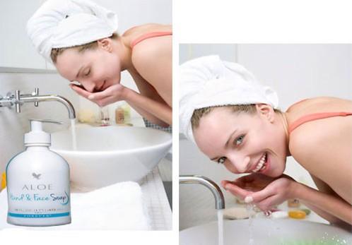 Aloe Hand & Face Soap 3