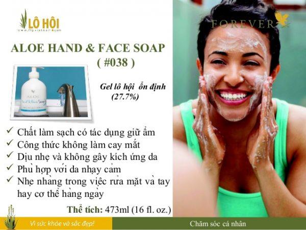Aloe Hand & Face Soap 5