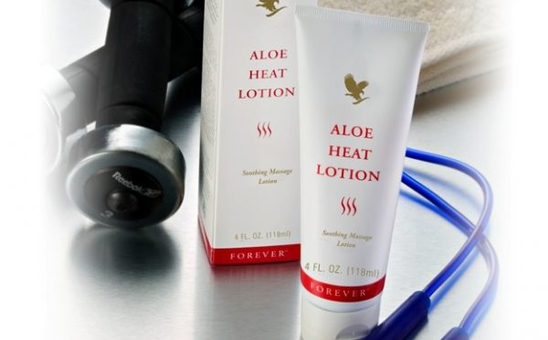 Aloe Heat Lotion 1