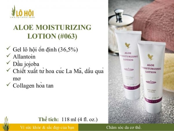 Aloe Moisturizing Lotion 4