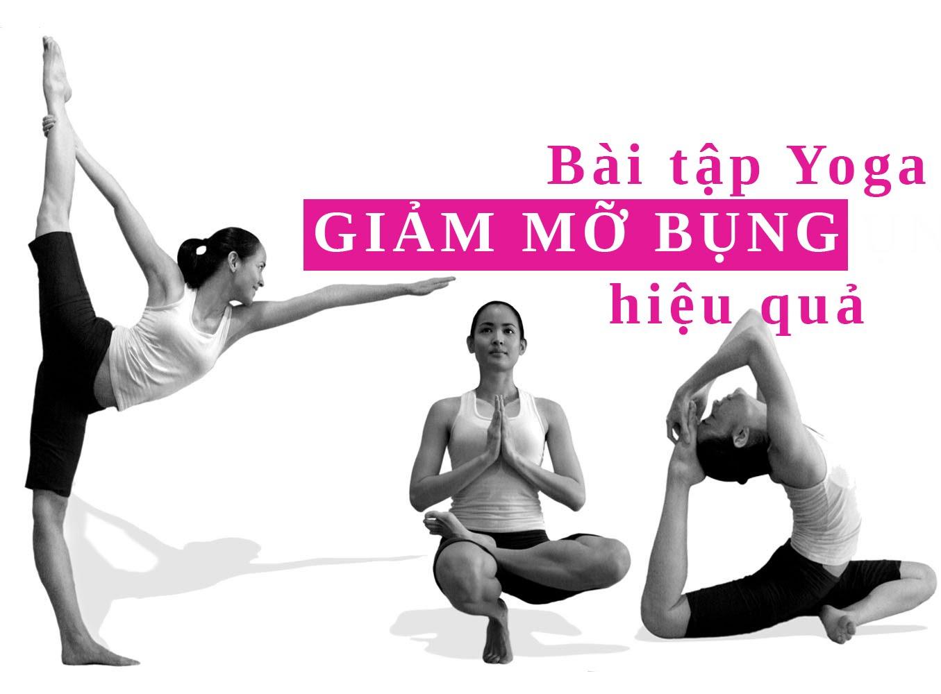 Bài tập Yoga giảm mỡ bụng dưới cho phái đẹp