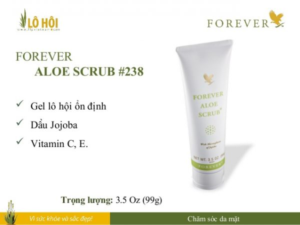 Forever Aloe Scrub 4