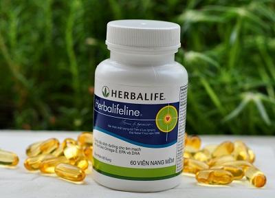 Herbalifeline dầu cá Omega 3 Herbalife 1
