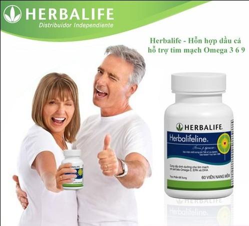 Herbalifeline dầu cá Omega 3 Herbalife 3