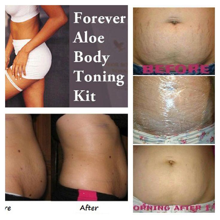 Giảm mỡ bụng hiệu quả với aloe body toning kit