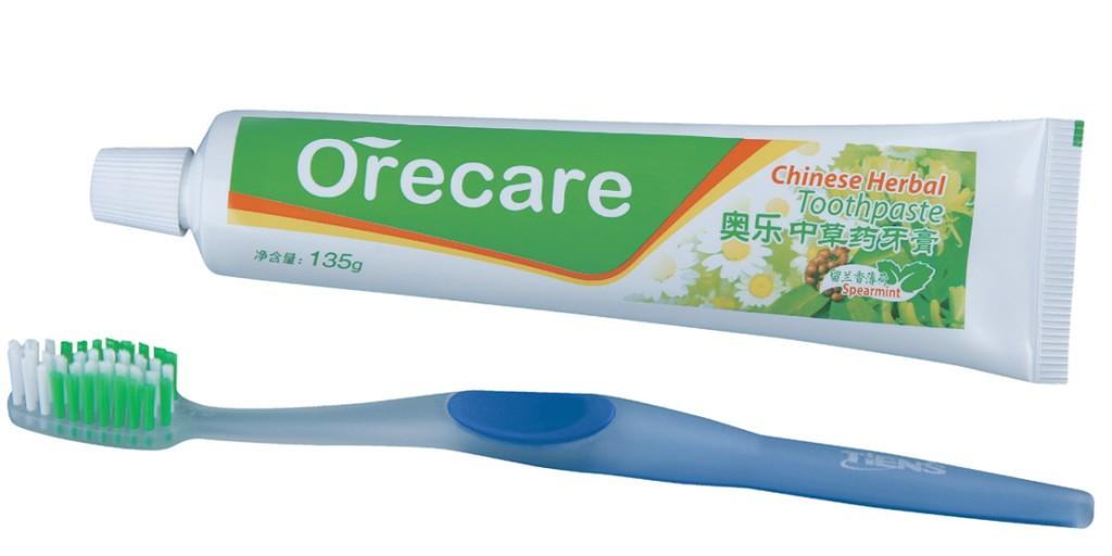 Kem đánh răng Orecare thảo dược Trung Hoa Tiens 1