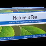 Nature's Tea của unicity giải độc hệ tiêu hóa, thanh lọc cơ thể