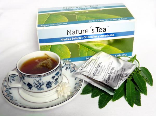 Nature's Tea của unicity giải độc hệ tiêu hóa 4