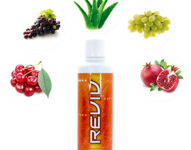 Reviv của Unicity nước uống tăng cường sinh  3