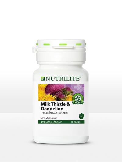 Nutrilite Milk Thistle & Dandelion – Viên Bảo Vệ Gan Amway