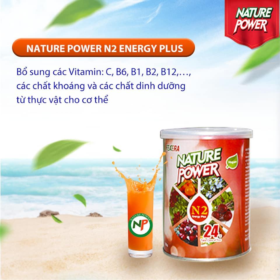 Nature Power N2 Energy plus bổ sung các vitamin, khoáng chất và các chất dinh dưỡng thực vật cho cơ thể