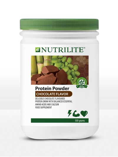 Protein Amway – Nutrilite Protein Powder vị Sô-cô-la 500g