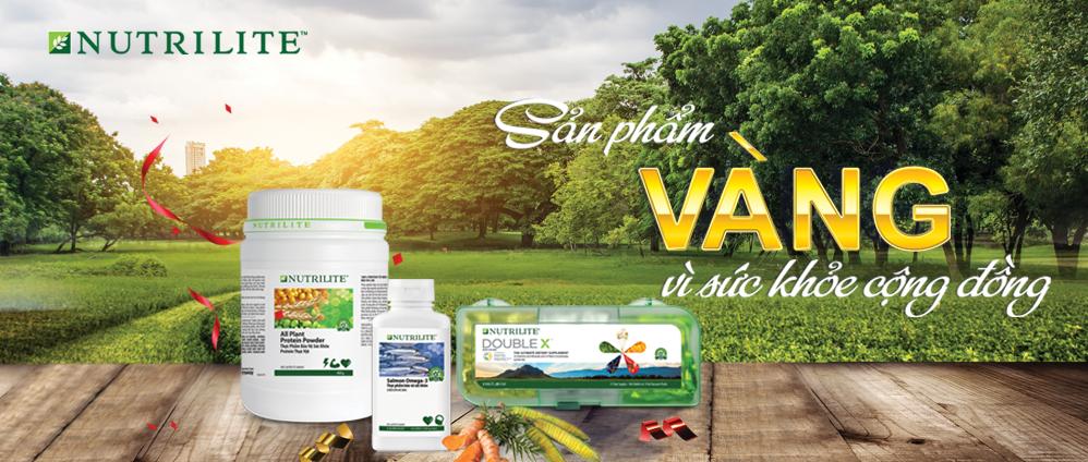 Nutrilite sản phẩm vàng cho sức khỏe