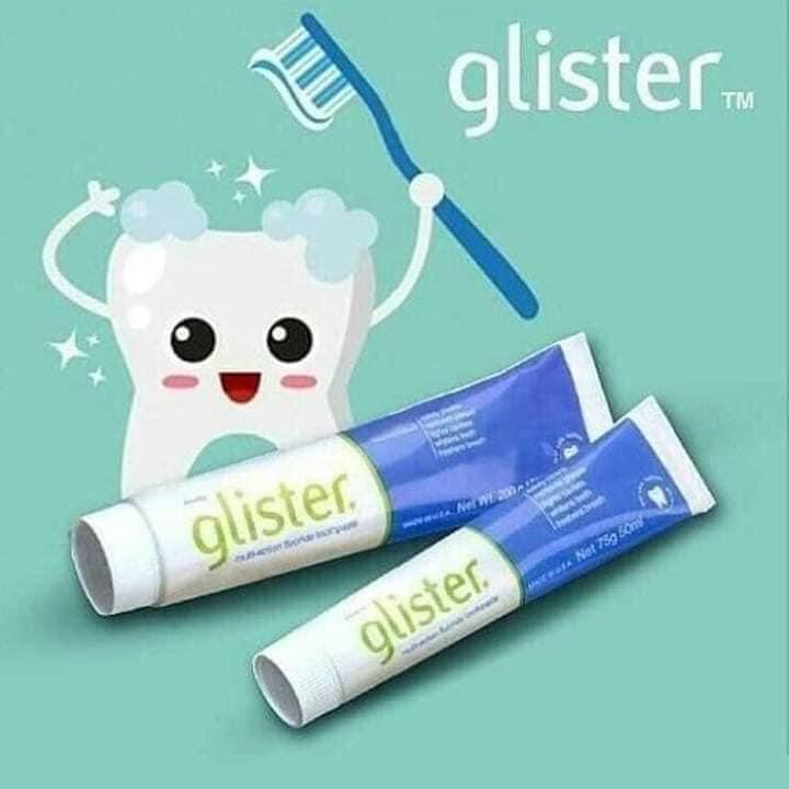 Kem Đánh Răng Amway Fluoride Đa Năng Glister giúp bảo vệ tốt răng miệng.
