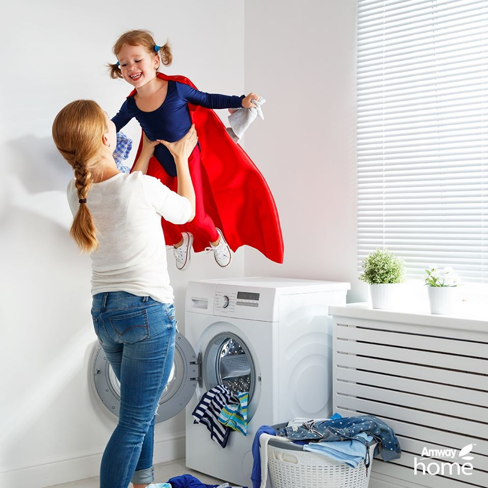 nước giặt đậm đặc Amway Home - SA8 sử dụng đơn giản