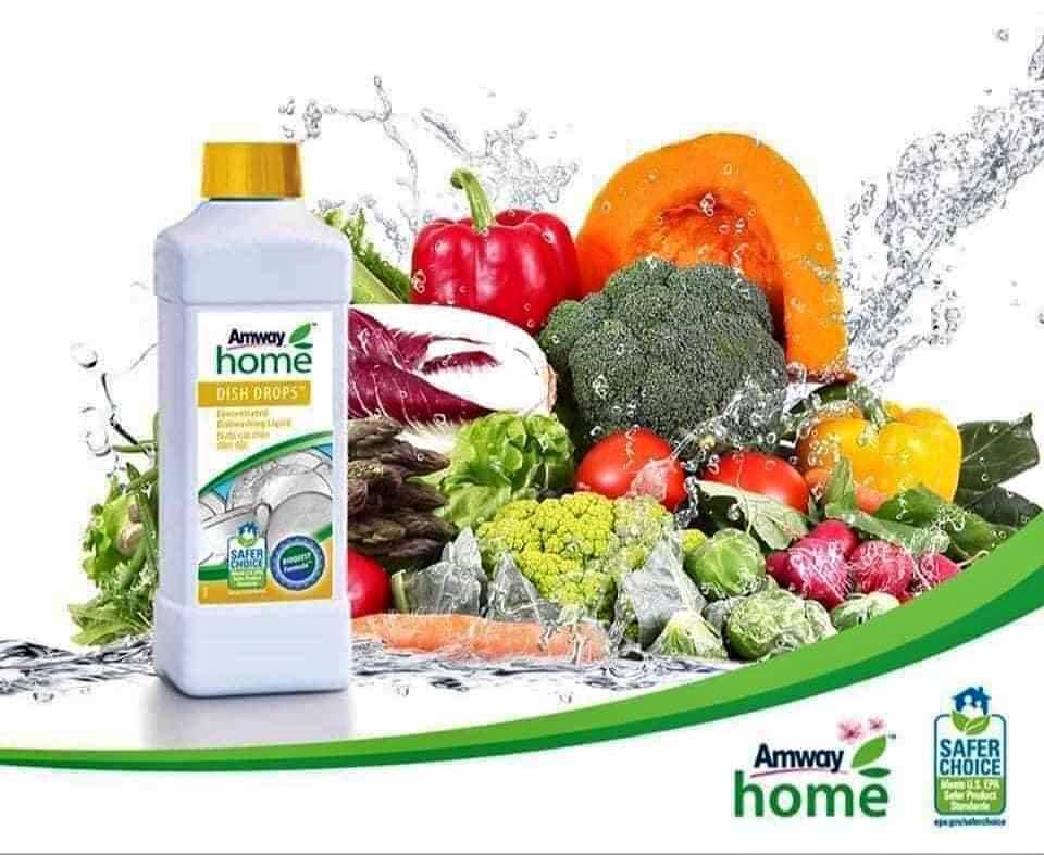 Bạn đã từng nghe nước rửa chén rửa được rau củ quả chưa?