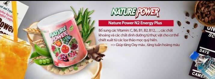 Nature Power N2 Energy plus - Năng lượng từ thảo dược