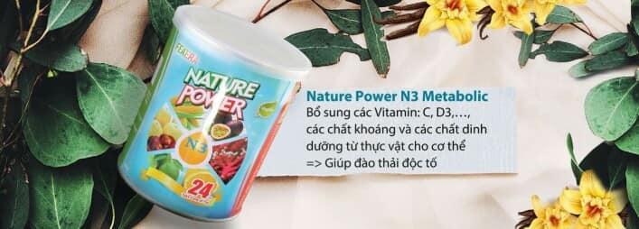 Nature Power N3 Metabolic cung cấp khoáng giúp thải độc