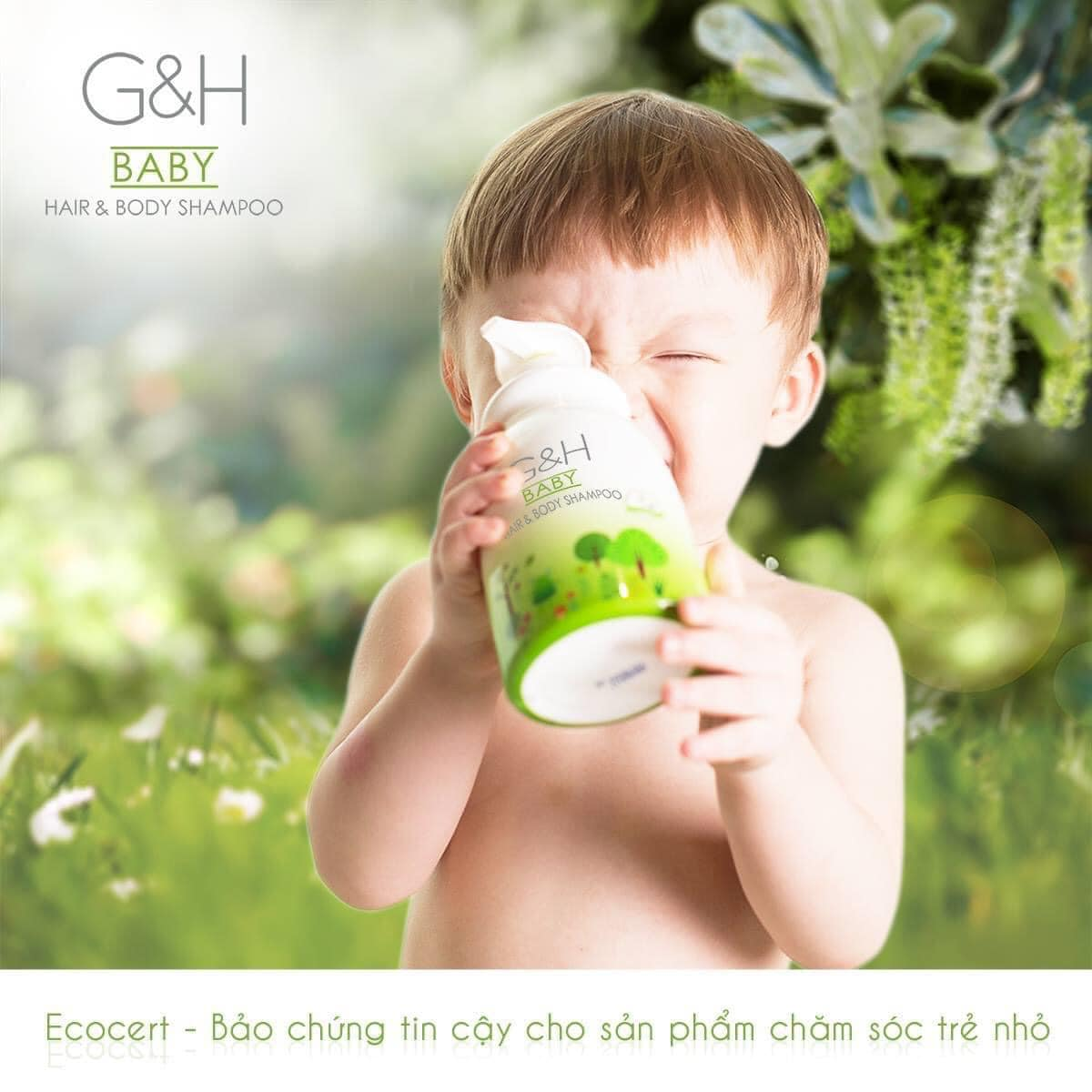 Làm Sao Tắm Gội cho Bé Đúng Cách với Amway G&H Baby