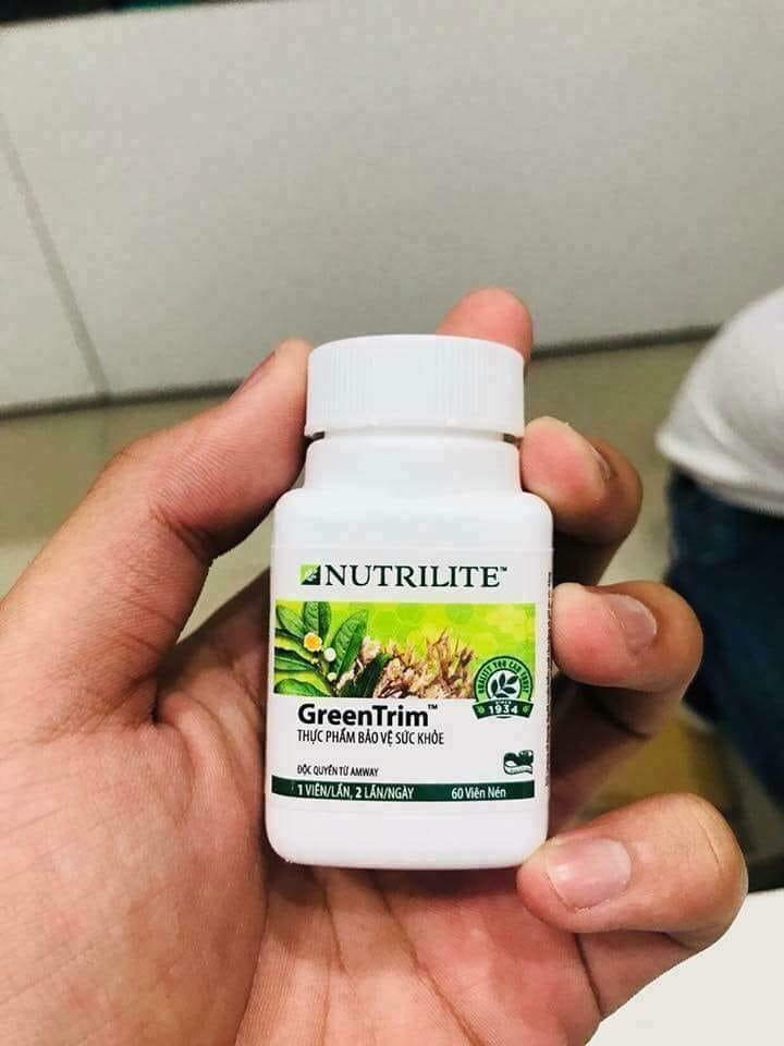 Viên Hỗ Trợ Giảm Cân Amway Nutrilite Green Trim
