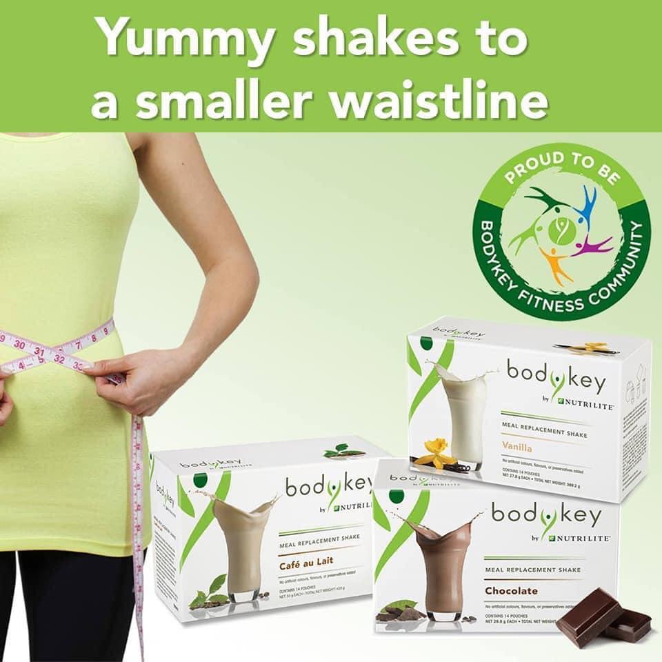 Hỗ trợ giảm cân hiệu quả với bột BodyKey by Nutrilite